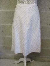 Top Shop skirt size 14. New with tag. Colour Cream. Linen/cotton. Some lace trim