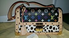 My poupette AUTH LOUIS VUITTON BLK SAC RABAT DALMATIEN MINT CONDITION WITH TAGS