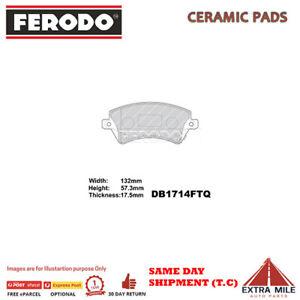 Ferodo brake pads FRONT for TOYOTA COROLLA 1.8L 4cyl DB1714FTQ