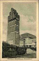 DARMSTADT AK um 1920 Künstler-Kolonie Hochzeitsturm Postkarten-Verlag Jacobs