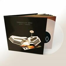ARCTIC MONKEYS TRANQUILITY BASE HOTEL NEW LIMITED CLEAR VINYL LP IN STOCK