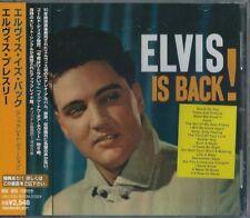 ELVIS PRESLEY CD Is Back,Rare Japan Press/Obi 1999 (6 Bonus Tracks) ROCK'N'ROLL