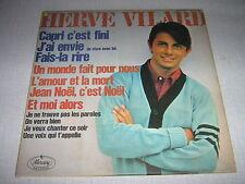 HERVE VILARD 33 TOURS CANADA CAPRI C'EST FINI