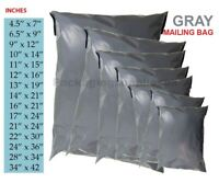 100 Grey Plastic Mailing//Mail//Postal//Post Bags 13 x 19