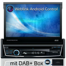 Autoradio mit DAB+ Navi Navigation Bluetooth TOUCHSCREEN DVD USB SD MP3 1DIN7