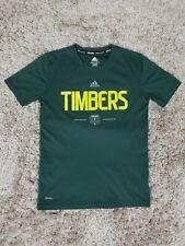 Womens Portland Timbers Adidas Climalite Shirt Sz M