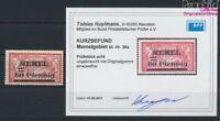 Memelgebiet 36a geprüft mit Falz 1921 Aufdruckausgabe (9039383