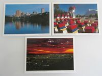 3 x ADELAIDE in SOUTH AUSTRALIEN Postkarten Lot Postcard Australia color