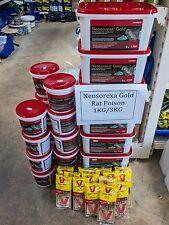 NEOSOREXA GOLD RAT BAIT RAT POISON MOUSE BAIT 6 KG PROFESSIONAL USE GRAIN BAIT