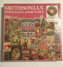 Smithsonian Puzzle 550 Horticulture 4806 Jigsaw,Gardening Brands, Signs, Retro