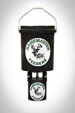 Gamemaster 40lb Wildlife Bucket Feeder With 6 Volt Digital Control Unit