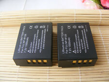 2XBattery for Fuji NP-W126 FUJIFILM X-E1 X-M1 X-Pro1 FinePix HS33 HS50 X-T20 XT2
