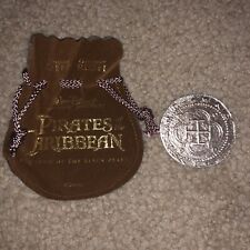 Pirates Of The Caribbean Curse Of Black Pearl Movie Prop Coin