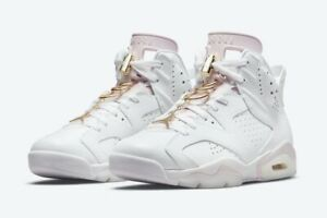 Air Jordan 6 Gold Rings Size 9.5 W 8 M NIB In Hand 100% Authentic SHIPS NOW