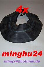 4 x Schlauch 13x5.00-6 / 13x500-6 für Reifen 13x5.00-6 gerades Ventil TR13 GV