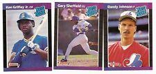 1989 1990 Donruss Baseball Sets NM-MT Each (660) + 2 Puzzle Sets