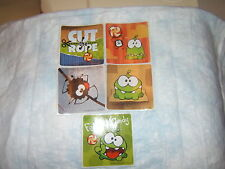 5 Cut The Rope   Stickers Party Favors