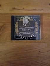 The Chronological Classics - Coleman Hawkins 1939 - 1940