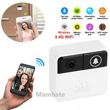 Smart Wifi Doorbell Wireless HD Video Camera Ring Motion Detection Night Vision