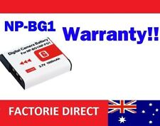Replacement Battery Sony NP-BG1 FG1 DSC-H10 H20 H3 H50 H55 HX7V W30 W35