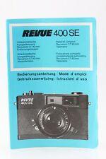 Bedienungsanleitung Revue 400 SE 400SE