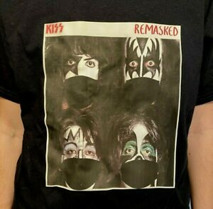KISS Dynasty Unmasked Remasked made KISS Band Tee Shirt FREE SHIPPING!!