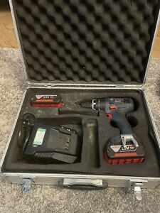 Bosch Pro 18v Cordless Drill With Two 4Ah Batteries