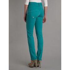 Two X Branded High Quality White Green Ladies Girls SKINNY Denim Jeans Legging Atrovirens-green 14