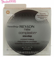 REVLON NEW COMPLEXION One Step Compact Makeup #08 SUN BEIGE