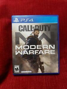 Mint! Call Of Duty Modern Warfare (2019) PS4 PS5* Multiplayer Top R8d Seller!