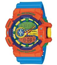 Casio G Shock * GA400-4A XL Crazy Color Orange Blue Gshock Watch COD PayPal