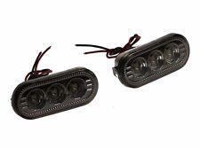 SMOKED LED FENDER TURN LIGHTS SIDE for VW JETTA GOLF PASSAT 1999 - 2005 MK4