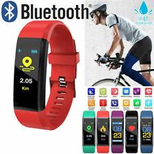 Bluetooth Smart Watch Bracelet Heart Rate Monitor Sport Fitness Tracker Fit Bit