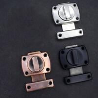 Cabinet Slide Bolt Door Lock Zinc Alloy Latch Home Bathroom Hardware Supplies