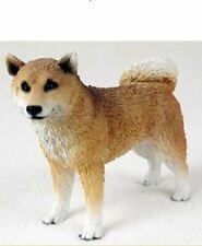 SHIBA INU DOG Figurine Statue Hand Painted Resin Gift Pet Lovers
