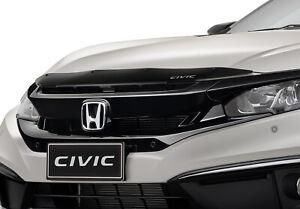 Genuine Honda Civic Bonnet Protector Tinted Black Sedan Hatch 2016-Current