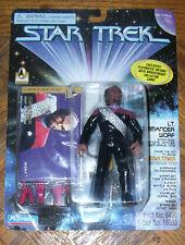 "Star Trek LIEUTENANT COMMANDER WORF DS9 4.5"" Action Figure 1996 Playmates"