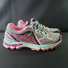 ASICS GT-2000 3 Womens Athletic Running Shoes Gray/Blue/Pink Size 6