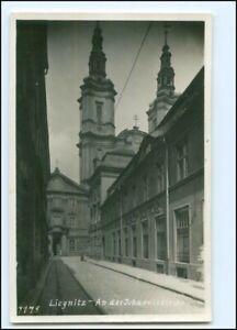 V1720/ Liegnitz An der Johanniskirche Foto AK ca.1938 Schlesien
