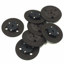 2x Black Spindle Hub Turntable Repair Parts For PS1 Laser Head Lens Game Console