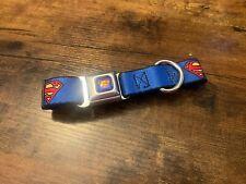 New ListingNew - No Tags Buckle Down Superman Dog Collar Neck Size Medium 11�-17�