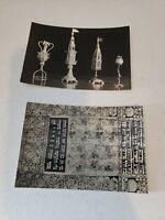 Lot of 2 Vintage Picture Postcard Statni Zidovske Muzeum Chrome New Unposted