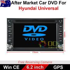 "6.2"" Double Din Car DVD GPS Player Radio Stereo Navi for Hyundai Universal"