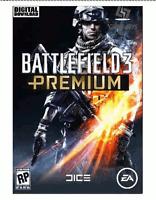 Battlefield 3 Premium Origin Pc Key Game Download Code Global [Blitzversand]
