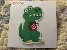 TARGET Gift Card No $ Value (collectible only) unused Cute Dinosaur T-REX 2014