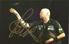 Darts: Raymond Van Barneveld 'Barney' Signed 6x4 Action Photo+Coa *Proof*