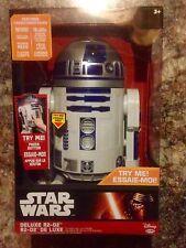 """Brand New Jakks Big-Figs Deluxe Star Wars 20""""R2-D2 ElectronicFigure (31"""" Scale)"""