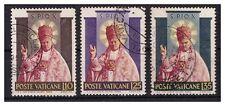VATICANO - 1954  SANTIFICAZIONE DI PIO X  SERIE  USATA