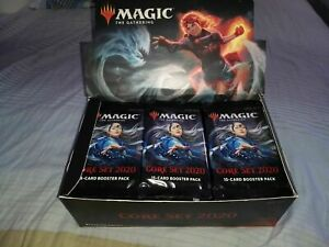 Magic the Gathering: MTG 1x CORE SET 2020 Display, English Booster Box, geöffnet