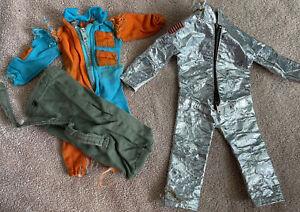 Vintage 60s GI Joe ASTRONAUT Space suit USA Flag Marine Action Figure Duffel Bag
